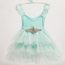 New Children Baby Fairy Lace Mesh Cake Dresses With Shine Belt, Girls Princess Sweet Dress 5 pcs/lot, Wholesale