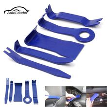 Different Price 5 pc Car Door Trim Panel Dash Installation Removal Pry Tool Kit Repair Plastic Blue Tools(China)