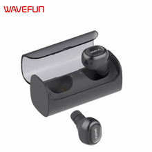 Wavefun X-Pods mini wireless earbuds bluetooth headphones earphone TWS headphone with mic for phone iPhone Xiaomi Samsung mobile(China)