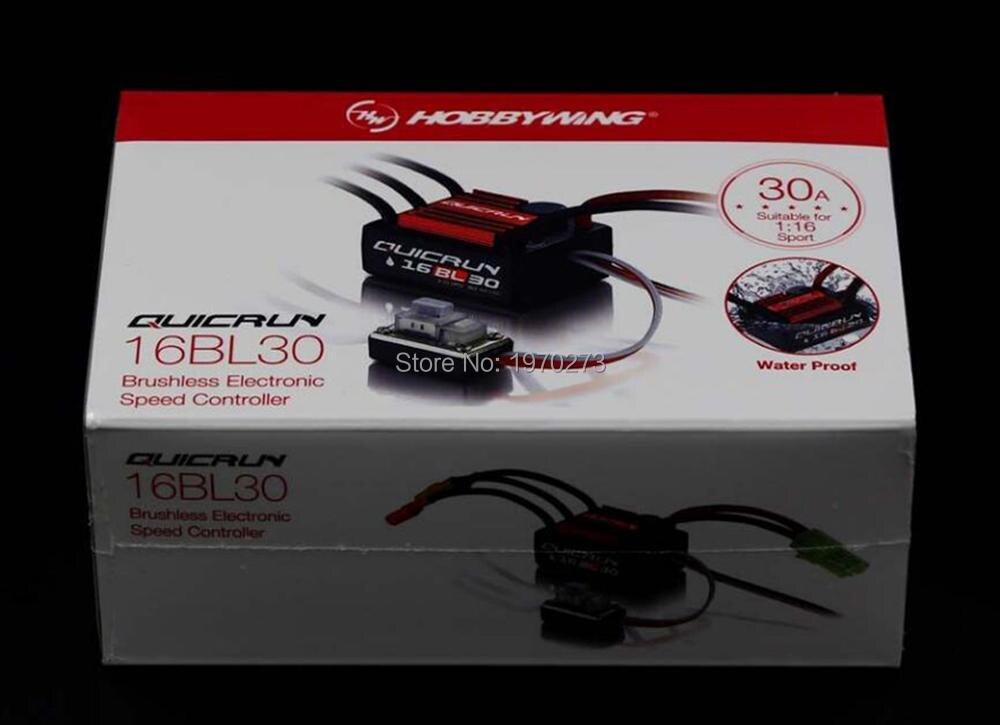 Hobbywing QuicRun 16BL30 30A Brushless ESC-2