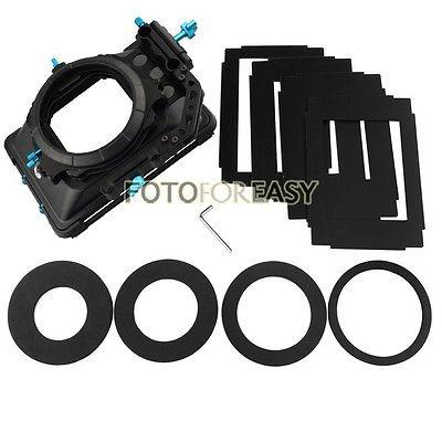 FOTGA DP3000 PRO Swing-away Matte Box 4:3 16:9 Ratio Masks for 15mm Rod DSLR Rig<br><br>Aliexpress