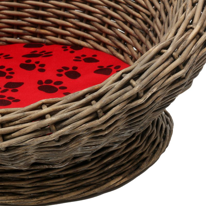 wicker cat bed-your cat will love it WICKER CAT BED-WICKER CAT BASKET-YOUR CAT WILL LOVE IT HTB1QtC
