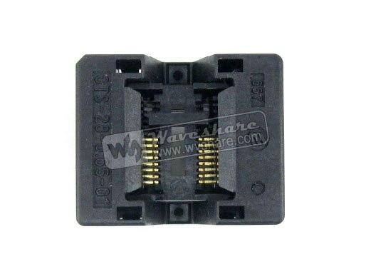 module SSOP16 TSSOP16 OTS-16(28)-0.65-01 Enplas IC Test Burn-in Socket Programming Adapter 0.65mm Pitch 4.4mm Width<br>
