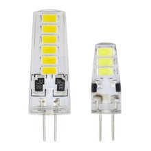 Energy Saving G4 LED Bulb 6LEDs 12LEDs SMD 5733 DC 12V Corn Candle Light Replace 5W 8W Compact Fluorescent Lamp For Chandelier(China)