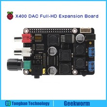 Raspberry Pi DAC Full-HD PCM5122 Amplifier X400 Expansion Board w/ I2S Class-D | Music Player for Raspberry Pi 3 Model B, 2B, B+(China)