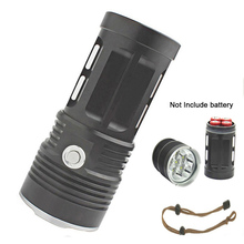 3T6 6T6 9T6 10 T6 11T6 King led flashlight 18650 rechargeable Torch flash light Camp Lamp Light Hunting Light