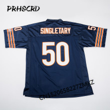 Retro star #50 Mike Singletary Embroidered Throwback Football Jersey(China)