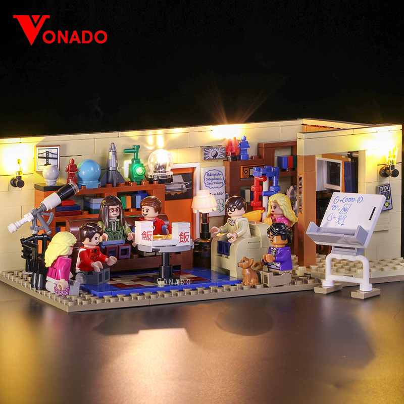 DIY Acrylic Display Case For LEGO 21302 The Big Bang Theory Bricks Toy y
