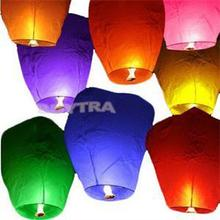 Event Supplies Chinese Style Sky Lanterns Balloons for Party Wedding Making Wishes Blow Up Ballons(China)