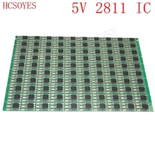100pcs DC5V 15mm WS2811 Circuit Board PCB Square Making WS2811 LED Pixel Module IC Chip Light Lighting tape ribbon