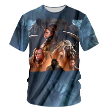 2017 Men 3D T Shirt Ice Age Woolly Mammoth Short Sleeves O-Neck Personalized T-Shirt 3d Printed Tee Shirts T-Shirts Clothes(Hong Kong)