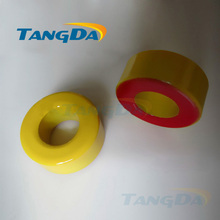 Tangda Iron powder cores T106-8 OD*ID*HT 27*14*11.5 mm 45nH/N2 35uo Iron dust core Ferrite Toroid Core toroidal yellow red