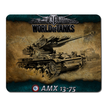 World of tanks AMX Mouse Pad Computer Mousepad Christmas gift Large Gaming Mouse Mats To Mouse Gamer Anime Rectangular Mouse Pad