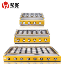 Fierce fire ovens commercial gas grill grilled oysters liquefied gas grill protectiing  environment