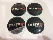 20Pcs 3D Aluminium NISMO Letter 56mm Wheel Center Hub Caps Emblem Sticker Case for Nissan Car styling(China)