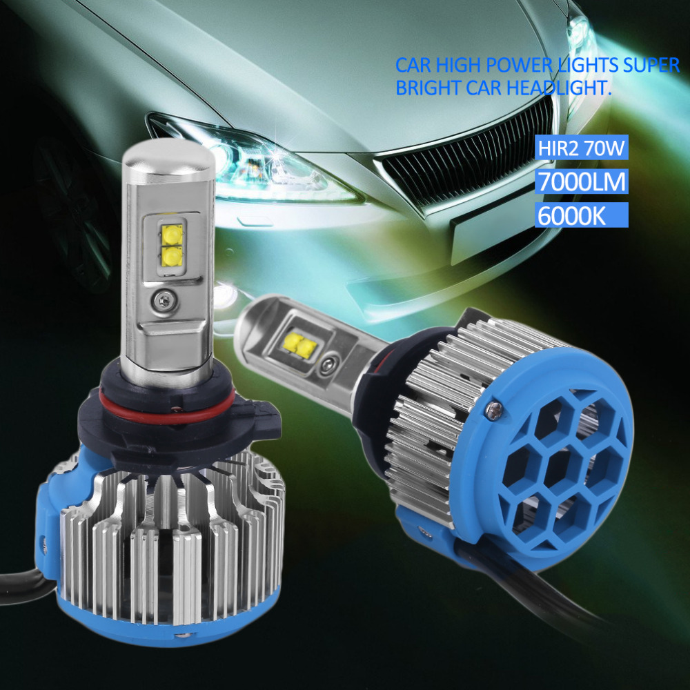 H1/H3/H7/H8/H9/H11/9005/HB3/9006/HB4/880/881/H27/9012/HIR2/H4 Car High Power Light Car Headlight Auto Front Lamp 7000lm 6000K<br><br>Aliexpress