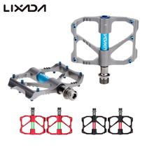 "Lixada 2Pcs Ultralight Cycling Pedal Aluminum Alloy Mountain Bike Sealed Bearing Platform Pedals 9/16""   Bicycle Pedal"