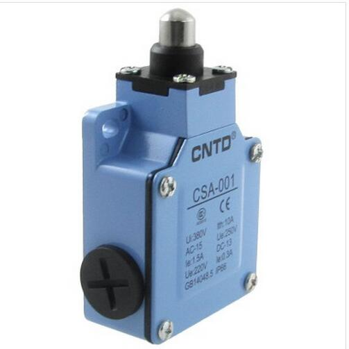 1.5A/250VAC 0.3A/220VDC Short Spring Plunger Compat Limit Switch CSA-001<br><br>Aliexpress
