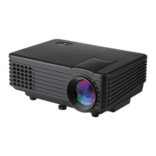 Newest 800 Lumen Projector RD802 Updated RD805 Mini LED Portable Beamer Proyector Projektor For Home Theater VGA TV USB HDMI AV