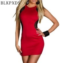2016 Hot Clubwear Women Clothes Novelty Girl Mesh Bodycon See Through Dresses Club wear Black Red Gauze Sexy Dress 11 6925