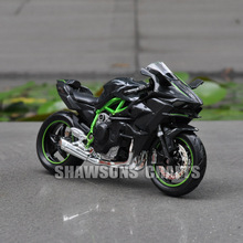 DIECAST MODEL TOYS MAISTO 1:18 KAWASAKI NINJA H2 SPORT BIKE MINIATURE MOTORCYCLE REPLICA(China)