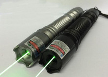 Strong high power 20000 green laser pointer 532nm focusable with 5 star caps burning match green laser pointers /pop balloon(China)