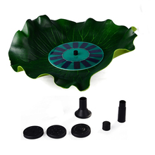Aquarium decro 7V Floating Water Pump Solar power Garden Plants Watering DC Power pump Fountain fish pond Pool landscaping