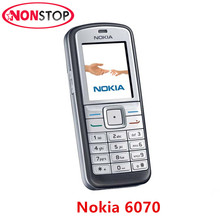 Hot ! Original Nokia 6070 Unlocked Refurbished Mobile Phone 2G GSM Cheap Nokia Cellphone Free shipping(China)