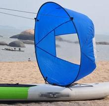 "New Style Durable 42"" Kayak for fishing sailing boat accessories marine Wind Sup Paddle Board Sail with clear window(China)"