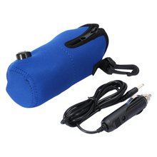 12V Portable DC Car Baby Bottle Warmer Heater Cover Portable Food Milk Travel Cup Covers 100% New