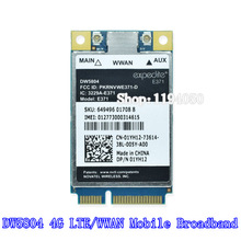 Unlocked Wireless DW5804 4G LTE / WWAN Mobile Broadband Access 01YH12 E371 PCI-E 3G / 4G Cards WLAN Module WCDMA Modem for Dell