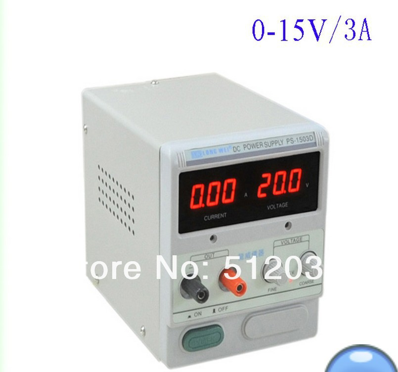 DC Power Supply LW PS-1503D (0-15V/3A)<br><br>Aliexpress