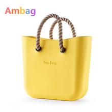 DIY Beach bags Price Women's Bags Fashion bag Medium Fast shipping Insert Handles Style Ambag EVA Plastic Dollar Price Bolsos