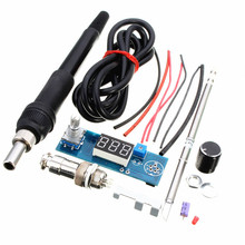 DIY T12 Handle Electric Unit Basic Ability PracticalDigital Soldering Iron Station Temperature Controller Kits(China)