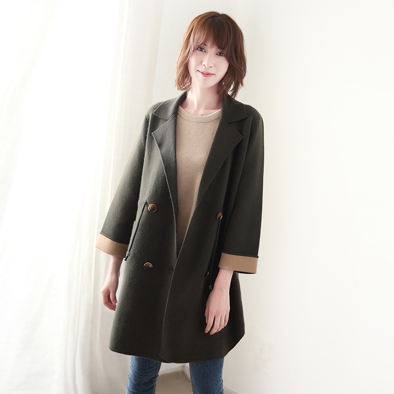 Popular 100 Wool Coat Women-Buy Cheap 100 Wool Coat Women lots ...