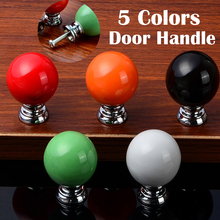 10PCS/Set Ball Shaped Drawer Pull Knobs Kitchen Cabinet Cupboard  Ceramic Door Handles Furniture Hardware Kitchen Accessories