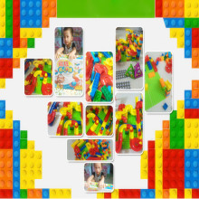 Hot47pcs Race Run Maze Balls Plastic Assemblage Balls Blocks Construction Track Kids Children Boys Game DIY Building Blocks Toys(China)