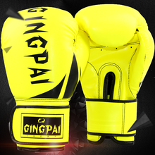 Adult Male Female 10 oz PU Muay Thai Boxing Gloves Sanda Women Men Fighting Sandbag Training Luvas Boxeo Guantes Christmas Gift