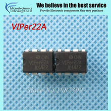 10pcs free shipping VIPER22A VIPER22 DIP-8 AC/DC Converters Low OFF-Line S new original(China)