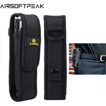 AIRSOFTPEAK XTAR T220 Flashlight Pouch LED Flashlight Pouch Holster Camping Hiking Belt Pouches  Tactical For Fenix XTAR TZ20