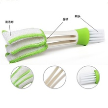 1 PCS Keyboard Dust Collector Car Air-condition Cleaner Computer Clean Tools Window Leaves Blinds Cleaner Duster Brush(China)