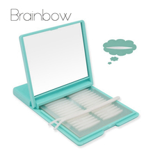 Brainbow 480Paris Eyelid Sticker Breathable Invisible Narrow/Widen/Olive Eyelid Paster One Side Technical Eyelid Tape+48prs Free(China)