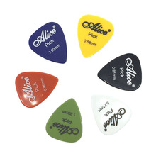 12 pcs Alice Guitar Picks Acoustic Electric Palheta Thickness 0.58mm-1.50mm Optional - Color Random(China)
