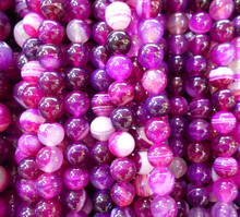 4mm 6mm 8mm 10mm Rose Magenta Striated Natural Stone Beads Rondelle Cat Eye Loose Beads Onyx Semi Precious Stone(China)