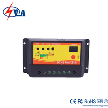 LED Display 10A PWM Charge Controller /Solar Regulator For Solar Home System, Outdoor Lighting, Small Solar Power Station