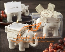 Fashion creative Valentine's days gift European wedding candle candle romantic elephant decoration candle D-1943