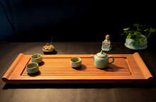 New,Chinese wooden tea table/desk,drain drawer,tea accessories,for ripe puer,tea pu erh,tieguanyin,Da Hong Pao,black tea,oolong(China)