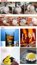 Boutique  4pcs Large Party Whiskey DIY Silicone Ice Ball Mold Sphere Tray