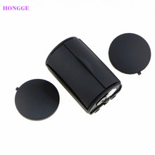 HONGGE 1 Pcs ABS Plastic Black Rear Ash Tray Bin Ashtray For VW Jetta Bora Golf MK4 1J0857962H 1J0 857 962H 1J0 857 962 H(China)