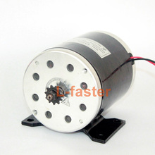 24V36V48V 500W UNITEMOTOR High Speed Brush DC Motor MY1020 Electric Scooter Engine Replacement High Quality Electric Bike Motor